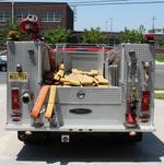 OCFD: Rear of Boardwalk truck
